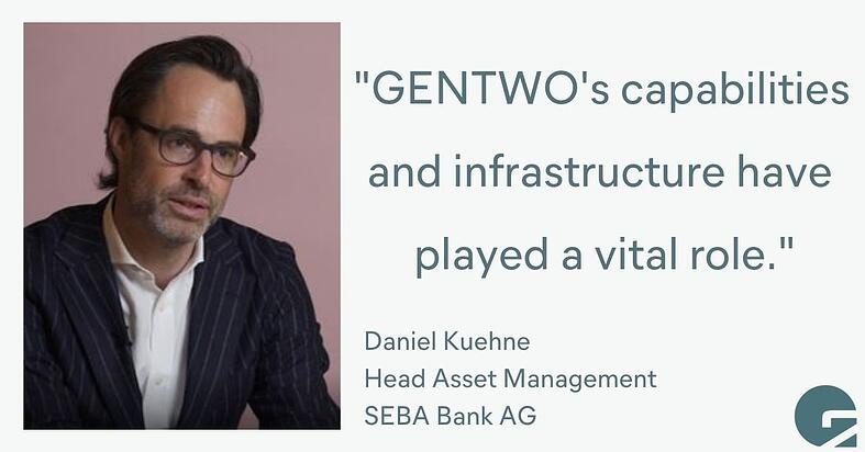 Partnering with GENTWO: A Bank's Perspective (part 1)